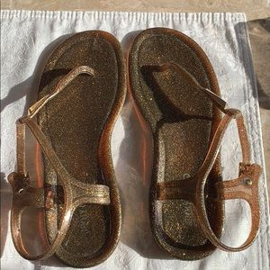 Jimmy choo jelly sandals size 37